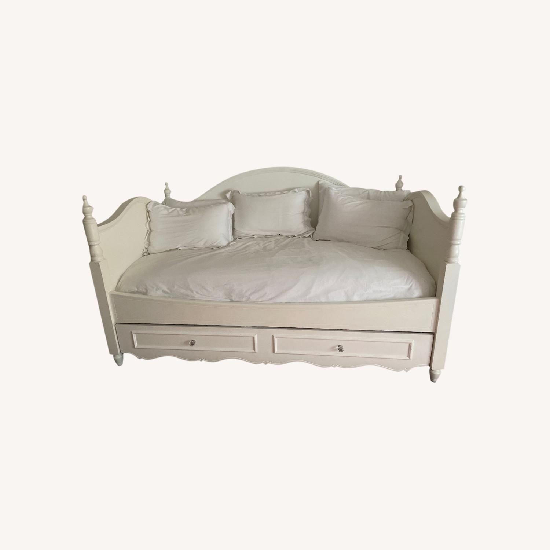Bloomingdale's Trundle Bed - image-0