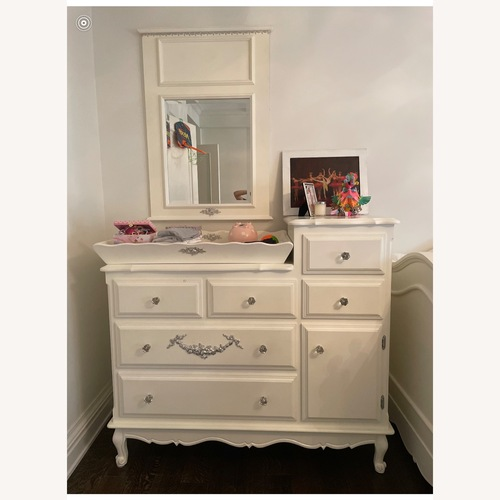 Used Bloomingdale's White Handcrafted Dresser for sale on AptDeco