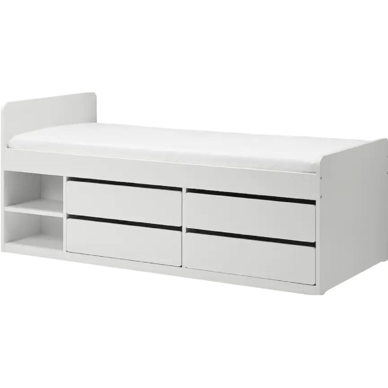 IKEA Slakt Bedframe with Storage - image-4
