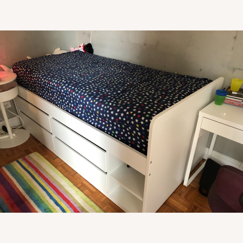 IKEA Slakt Bedframe with Storage - image-2