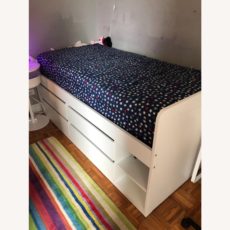 IKEA Slakt Bedframe with Storage - image-1