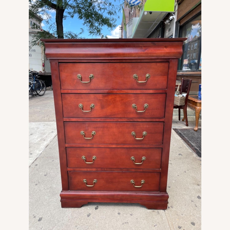 Wooden 6 Drawer Dresser - image-1