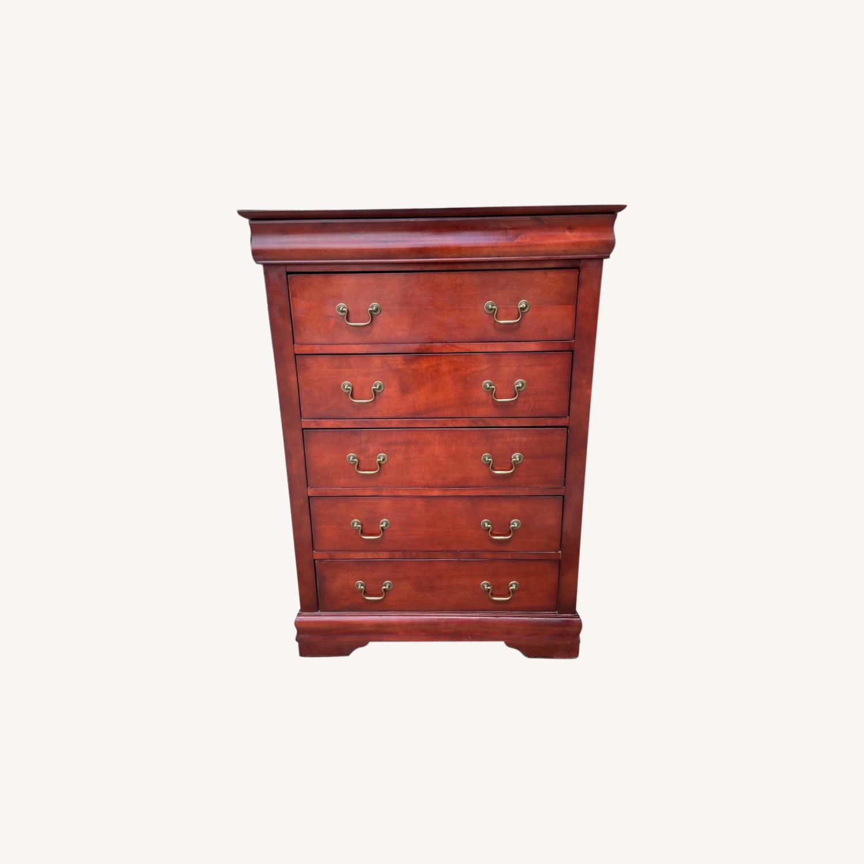 Wooden 6 Drawer Dresser - image-0