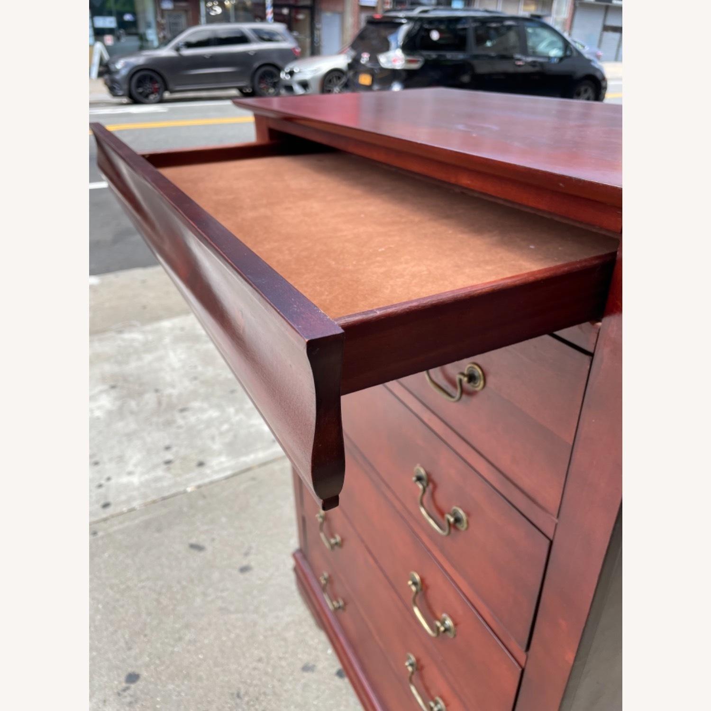 Wooden 6 Drawer Dresser - image-11
