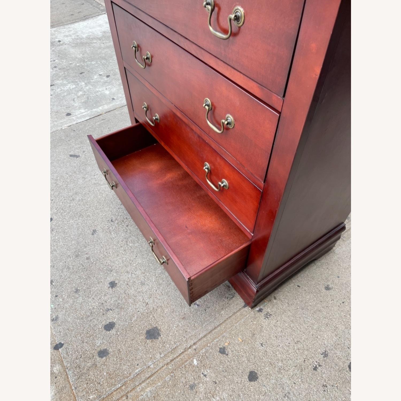 Wooden 6 Drawer Dresser - image-18