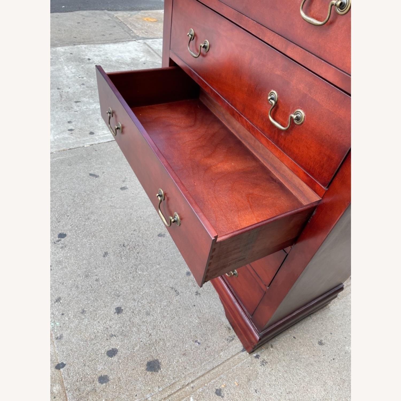 Wooden 6 Drawer Dresser - image-14