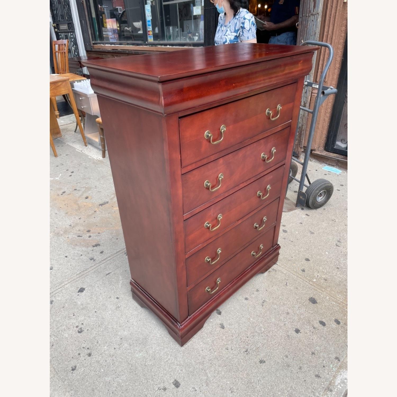 Wooden 6 Drawer Dresser - image-4