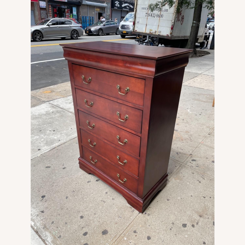 Wooden 6 Drawer Dresser - image-3
