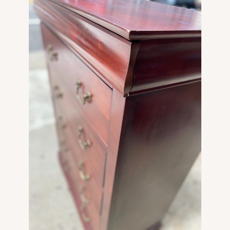 Wooden 6 Drawer Dresser - image-9