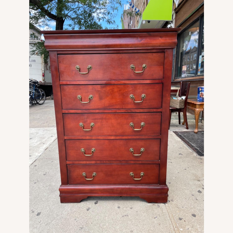 Wooden 6 Drawer Dresser - image-2