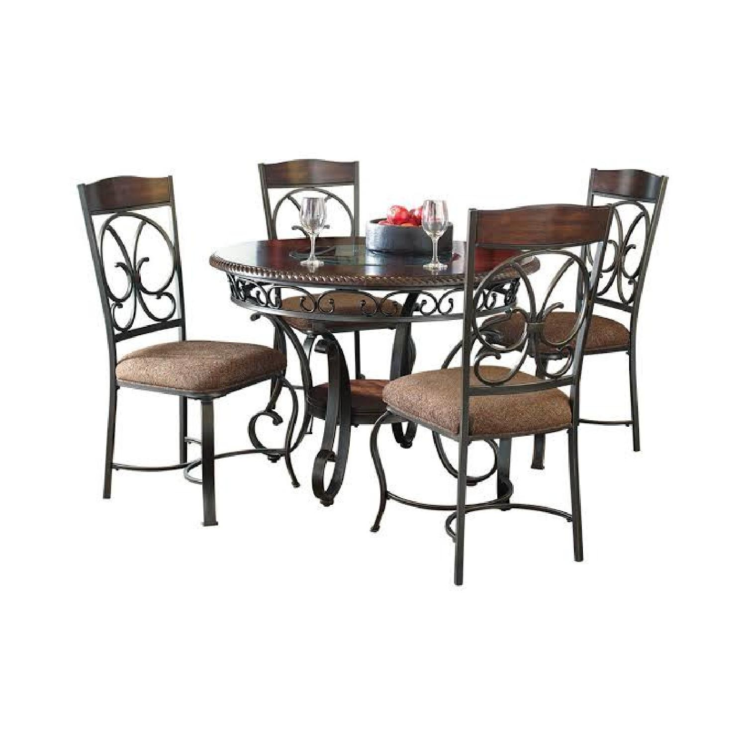 Ashley Glambrey Dining Table Set of 4 (28inches height) - image-5