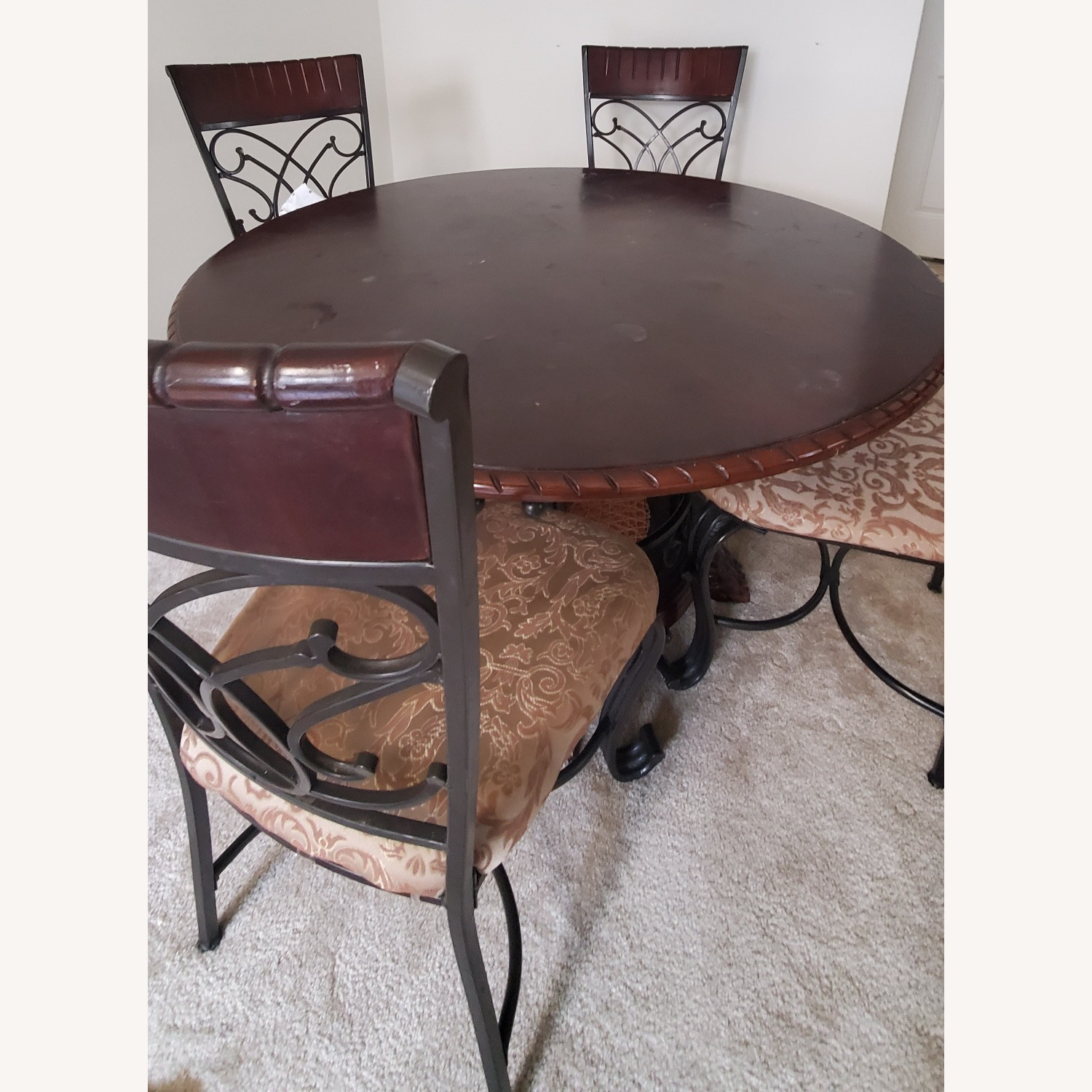 Ashley Glambrey Dining Table Set of 4 (28inches height) - image-2