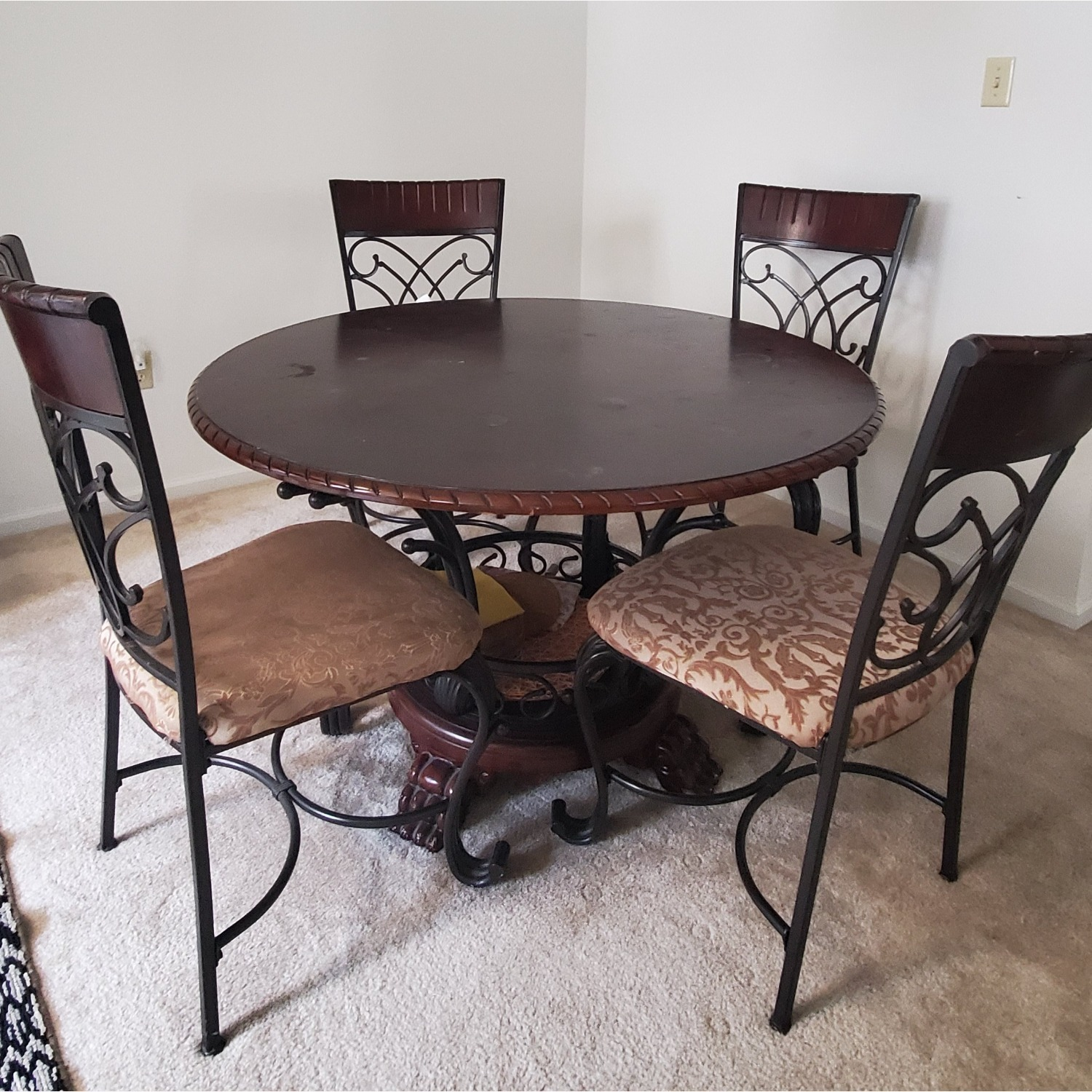 Ashley Glambrey Dining Table Set of 4 (28inches height) - image-3