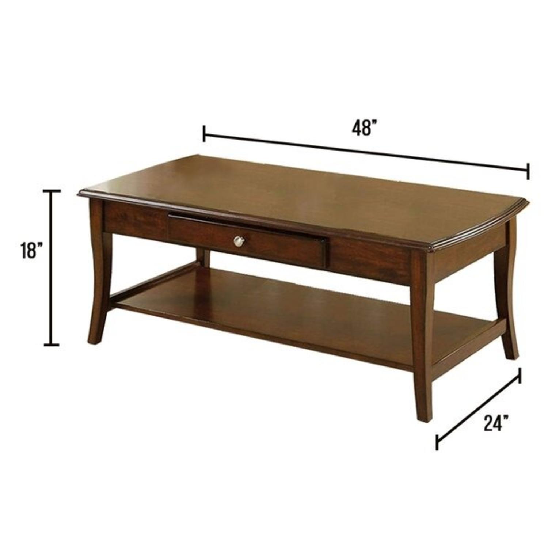 Furniture of America Gunn 3 Piece Coffee Table Set - image-3