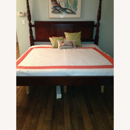 Used Baker Milling Road King-Sized 4 Poster Bed for sale on AptDeco