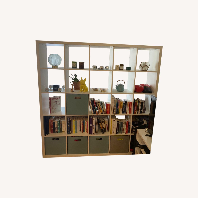 White Bookcase - image-0