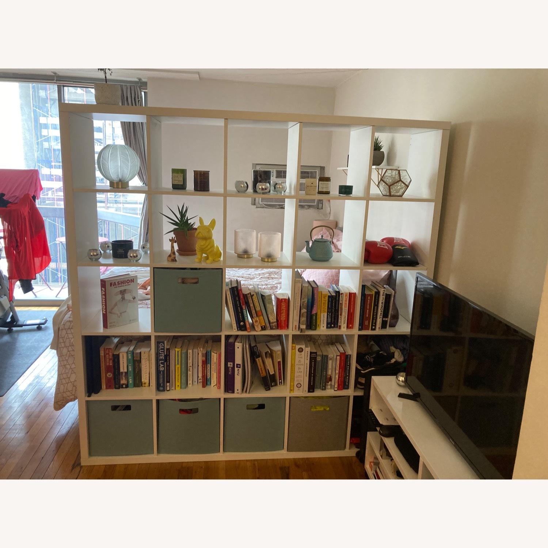 White Bookcase - image-1