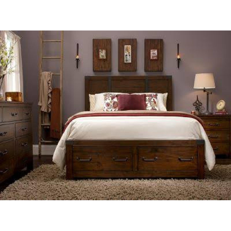 Raymour & Flanigan Sheldon Bed - image-5