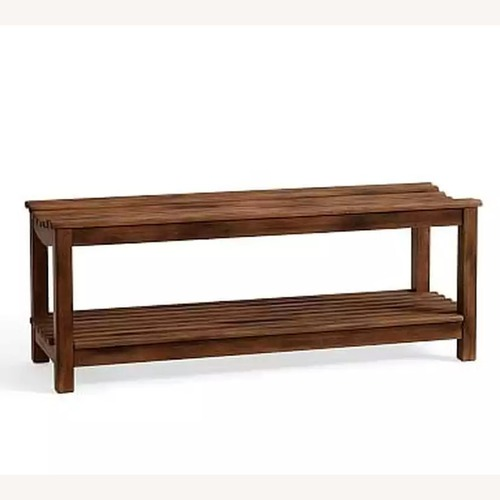 Used Pottery Barn Declan Antique Bench for sale on AptDeco