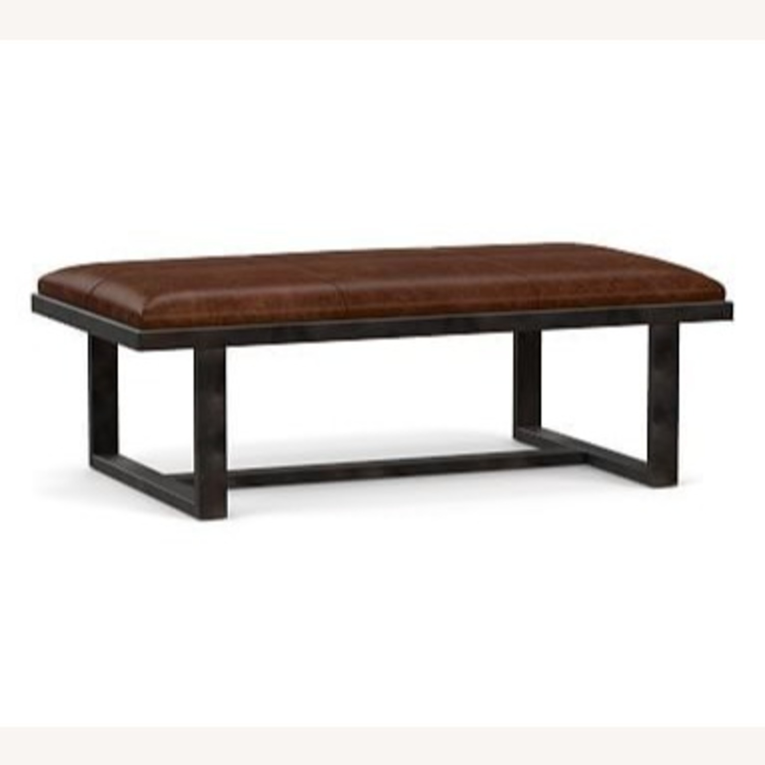 Pottery Barn Griffin Ottoman - image-2