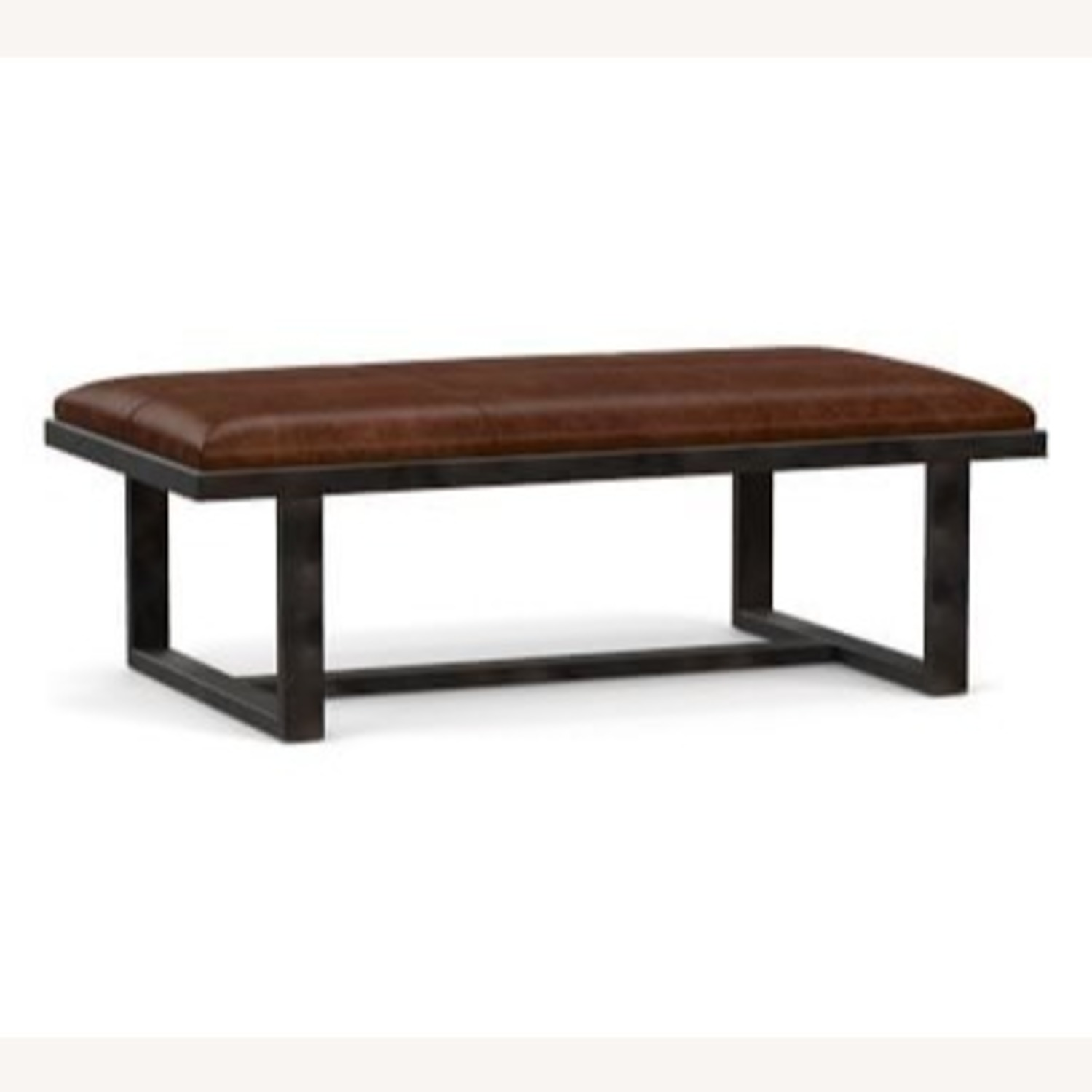 Pottery Barn Griffin Ottoman - image-1