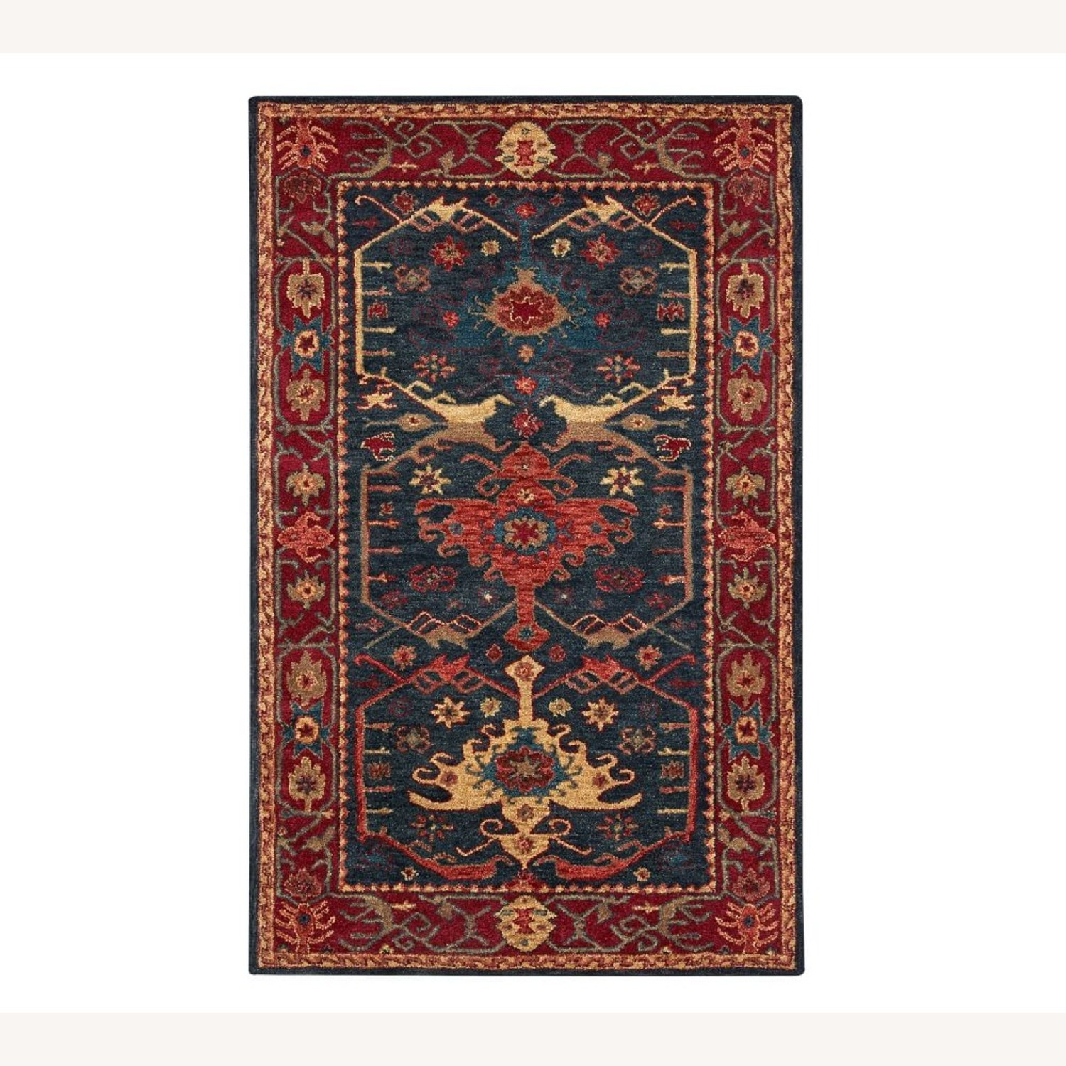 Pottery Barn Channing Persian-Style Hand Rug - image-3