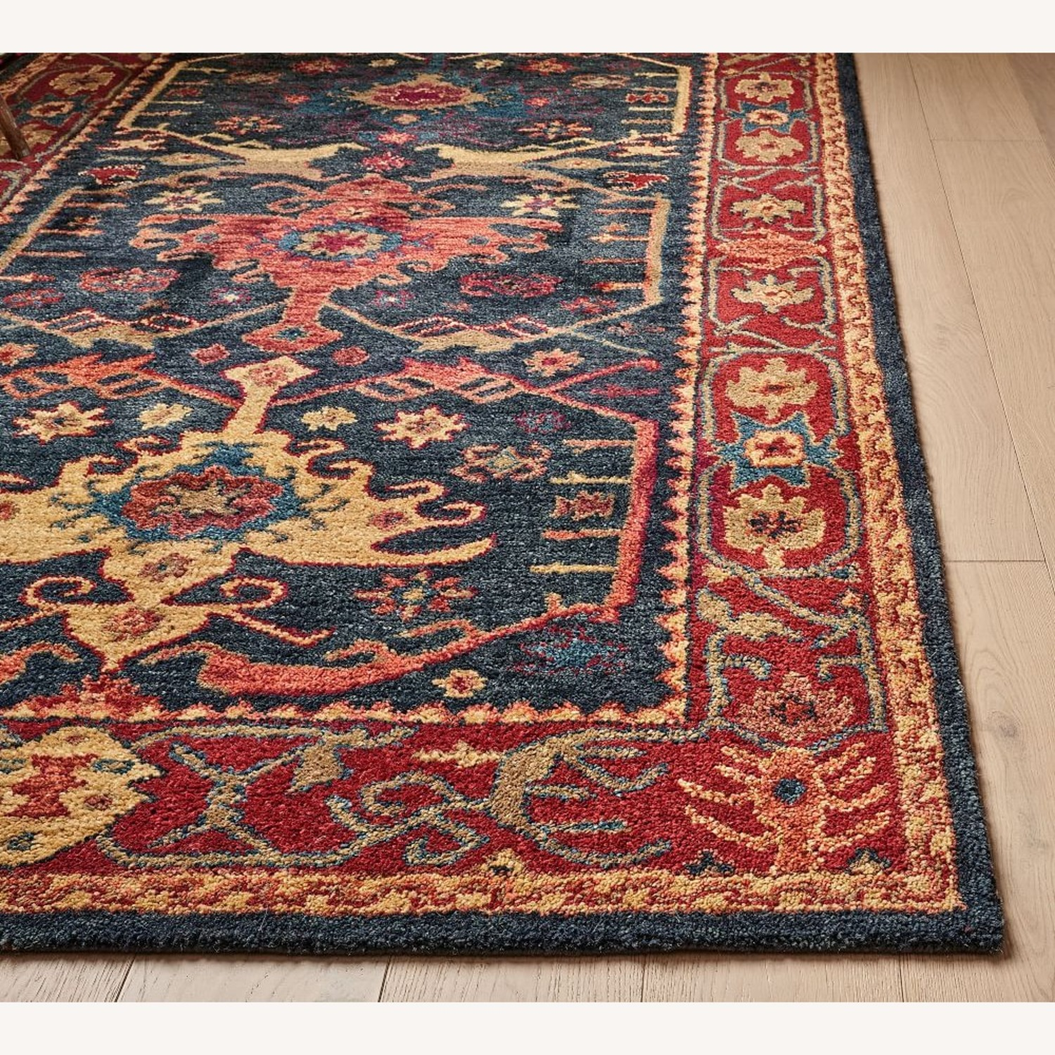 Pottery Barn Channing Persian-Style Hand Rug - image-1