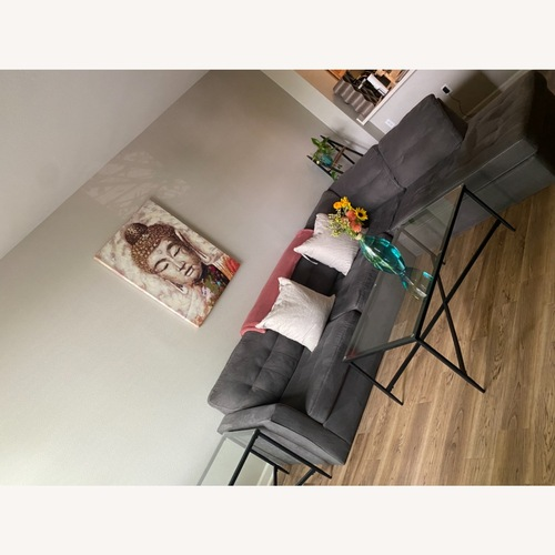 Used Grey Sectional for sale on AptDeco