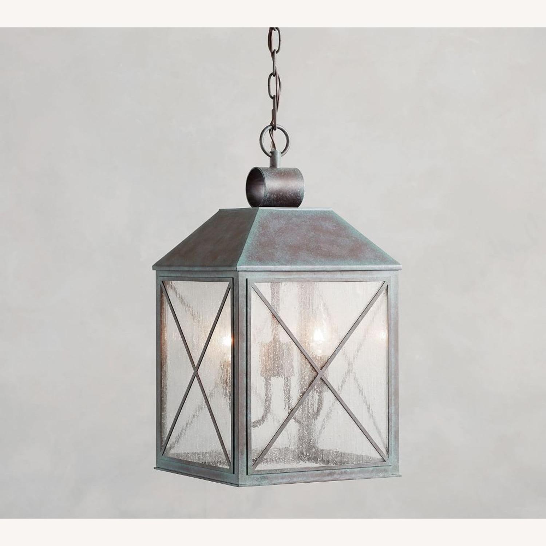 Pottery Barn Waltham Indoor/Outdoor Pendant - image-2