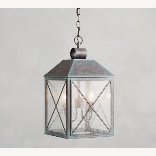 Used Pottery Barn Waltham Indoor/Outdoor Pendant for sale on AptDeco