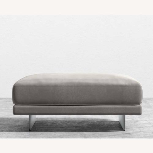 Used Rove Concepts Dresden Ottoman - Dusk Velvet for sale on AptDeco