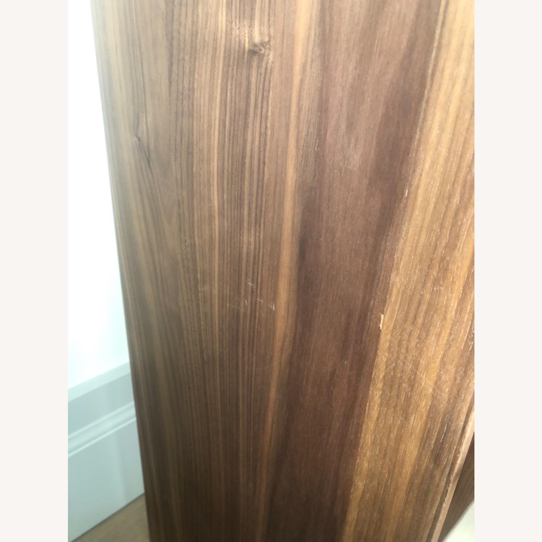 Room & Board Walnut & Steel Beam Bookcase - image-4