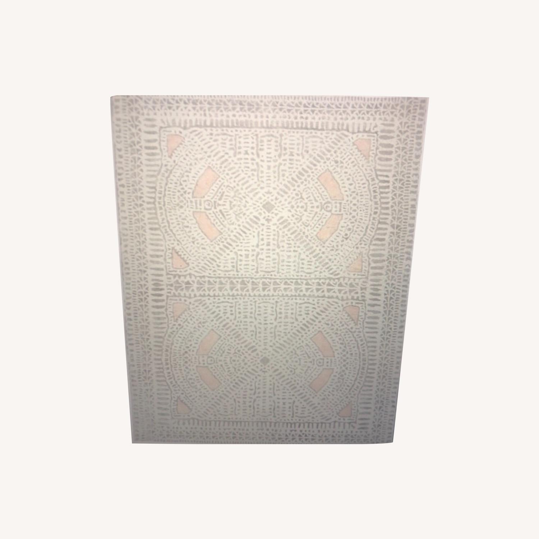West Elm Dynasty Rug - Rosette 8x10 - image-0