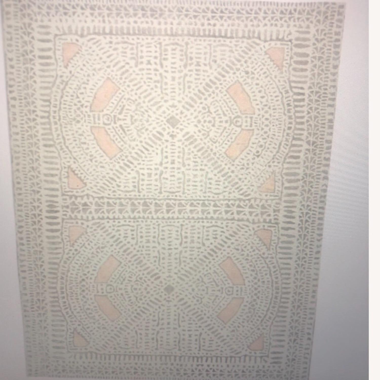 West Elm Dynasty Rug - Rosette 8x10 - image-1