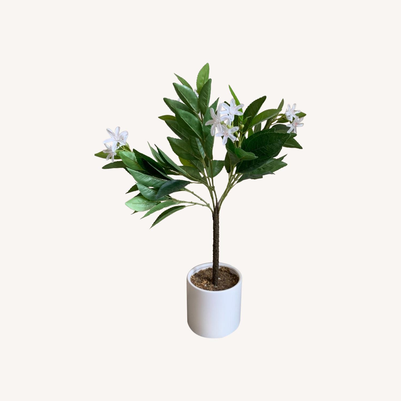 Target Faux Lemon Blossom Arrangement - image-0