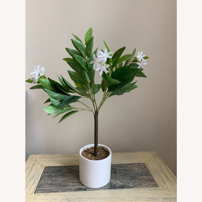 Target Faux Lemon Blossom Arrangement - image-1
