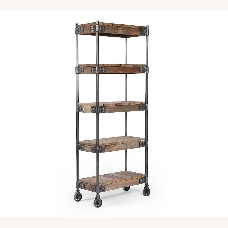 Pottery Barn Williams Wood Etagere Bookcase - image-1