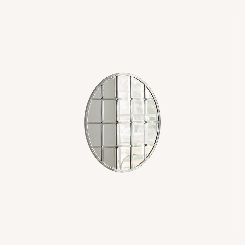 Pottery Barn Eagan Round Multipanel Wall Mirror - image-0