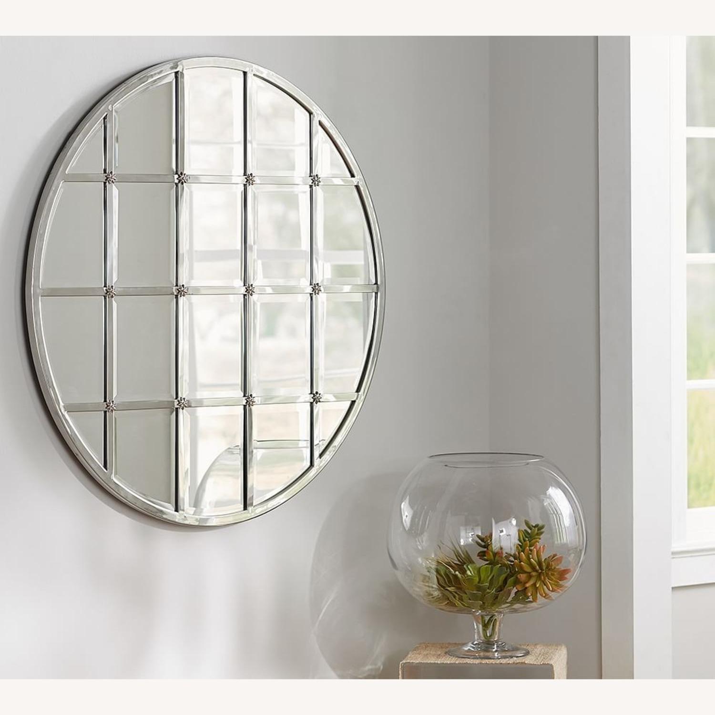 Pottery Barn Eagan Round Multipanel Wall Mirror - image-1