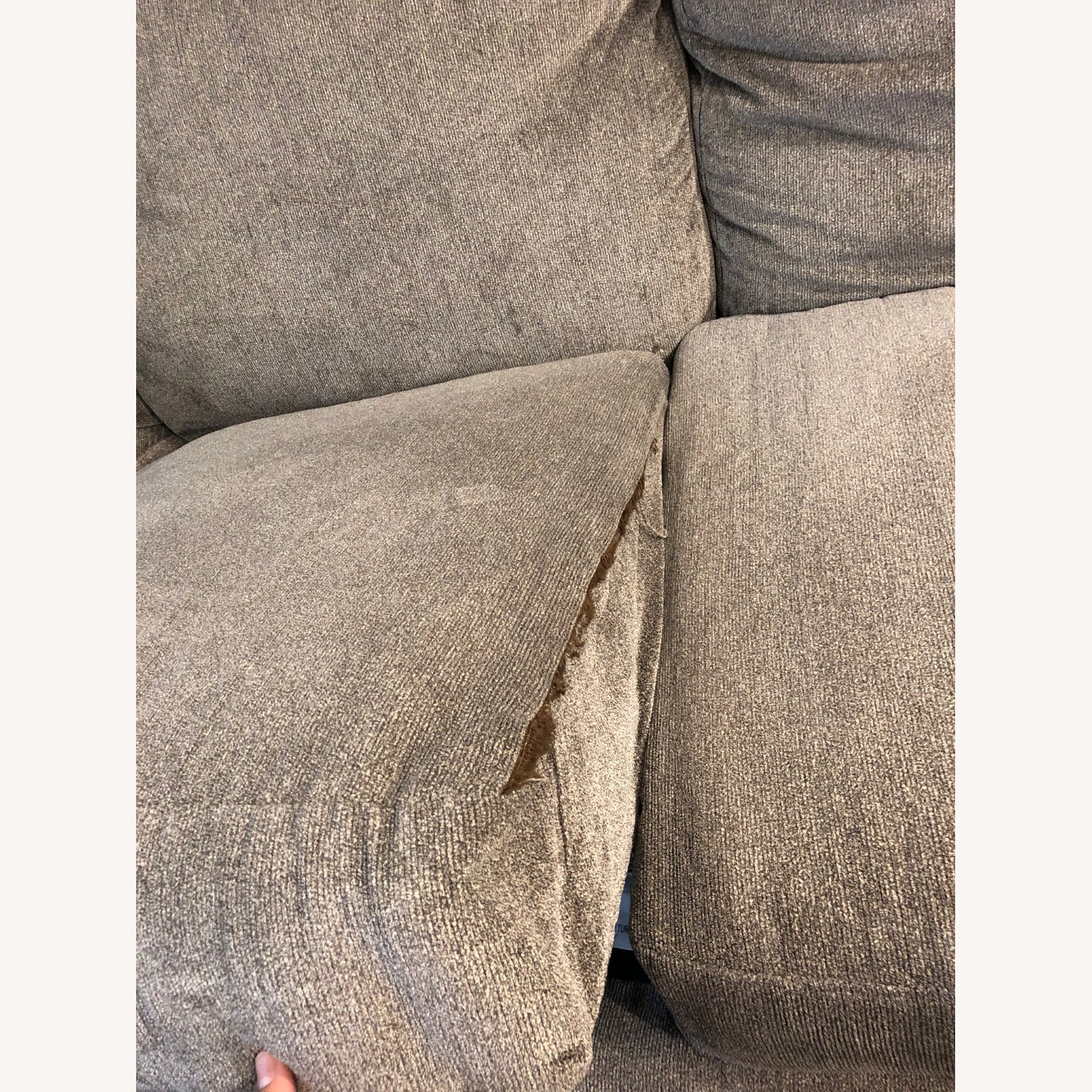 Microfiber 2 piece Sectional includes the Cuddler - image-3