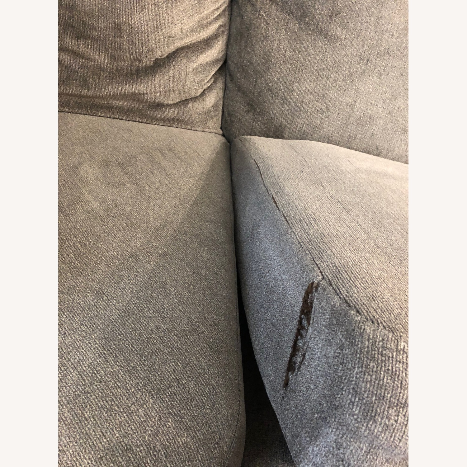 Microfiber 2 piece Sectional includes the Cuddler - image-4