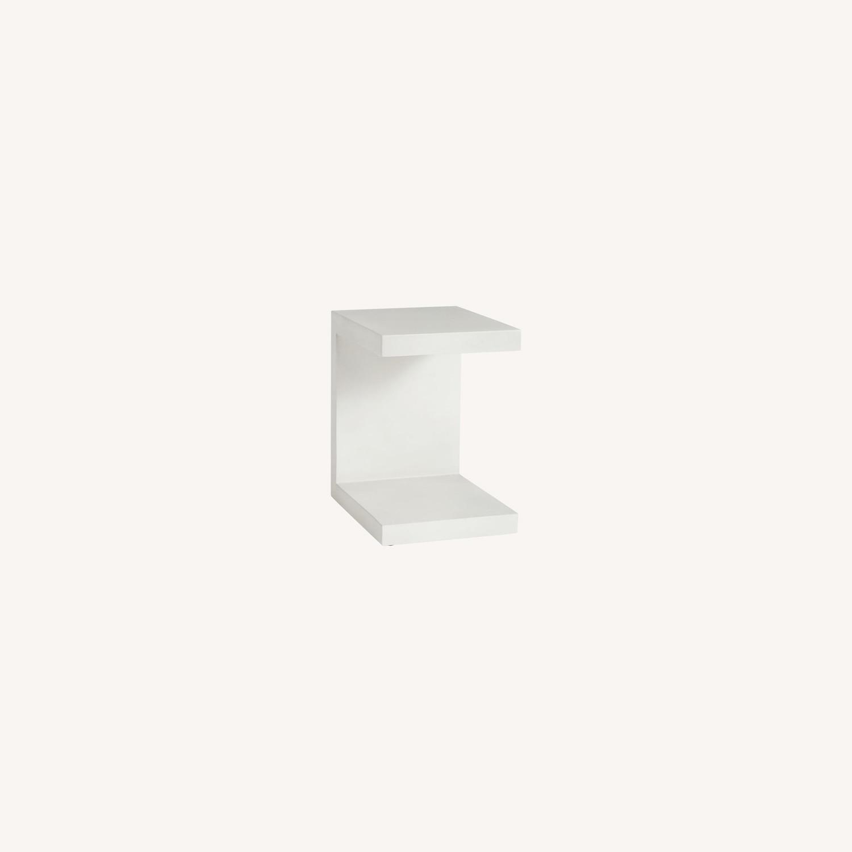 Pottery Barn Pomona Concrete C-Table - image-0