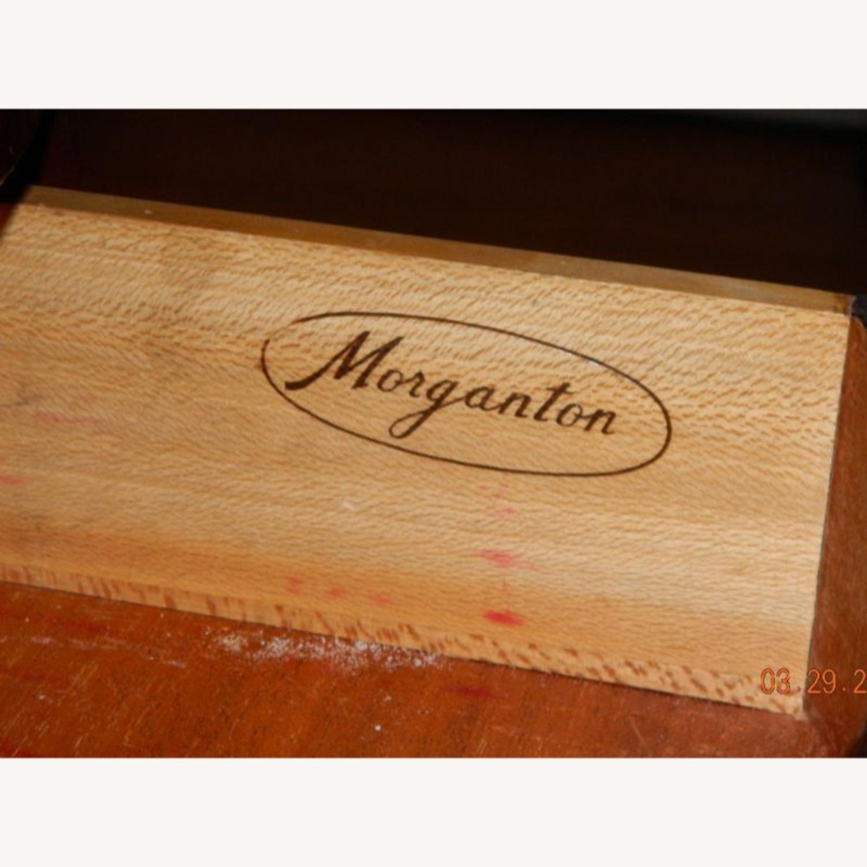 Morganton China Cabinet w Serpentine Glass - image-3