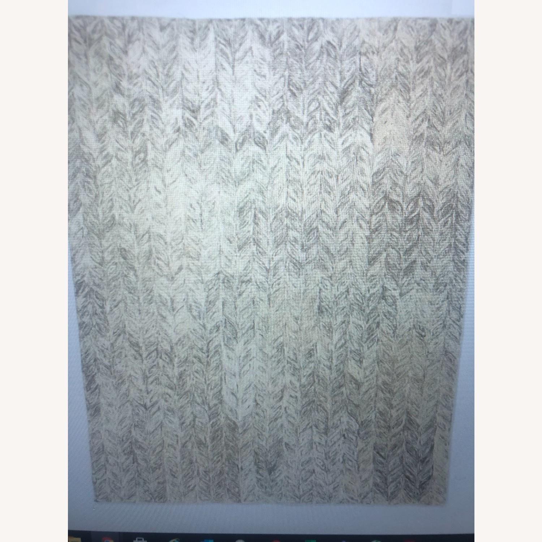 West Elm 5x8 Vines Wool Rug - image-1