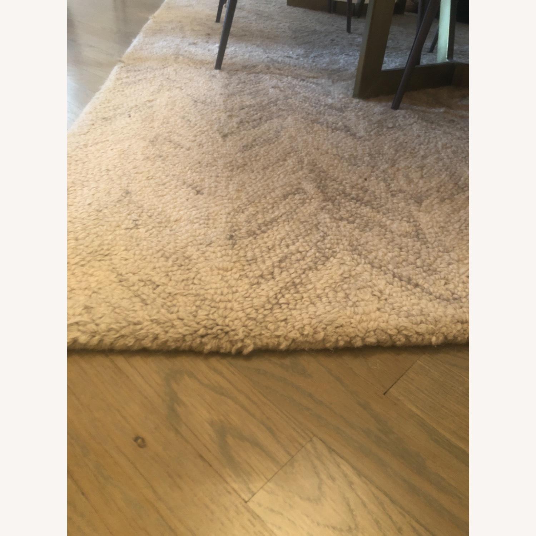 West Elm 5x8 Vines Wool Rug - image-3