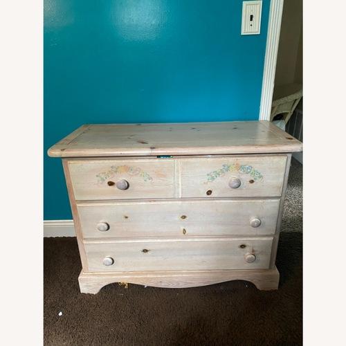 Used Ashley Furniture Floral Dresser for sale on AptDeco