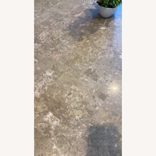 Used Marble Dining Table Set for sale on AptDeco