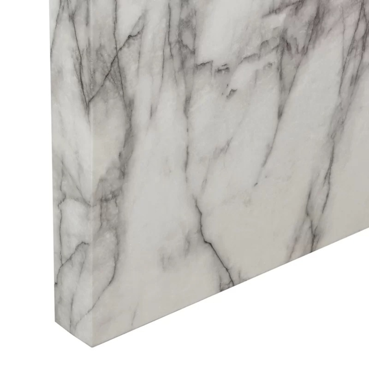 Icon Faux Marble Waterfall Bar Height Table - image-4