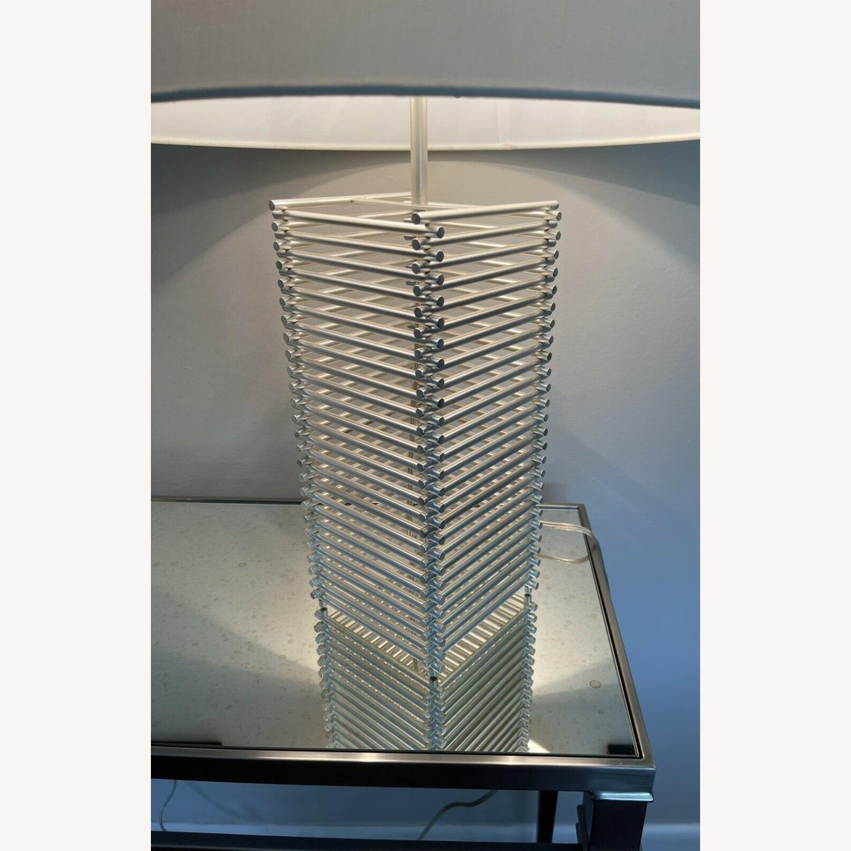 Thomas Pheasant Stack Table Lamp Baker Furniture - image-3