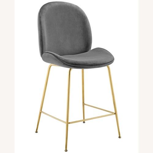 Used Mercers Furniture Jaynes Bar & Counter Stool for sale on AptDeco